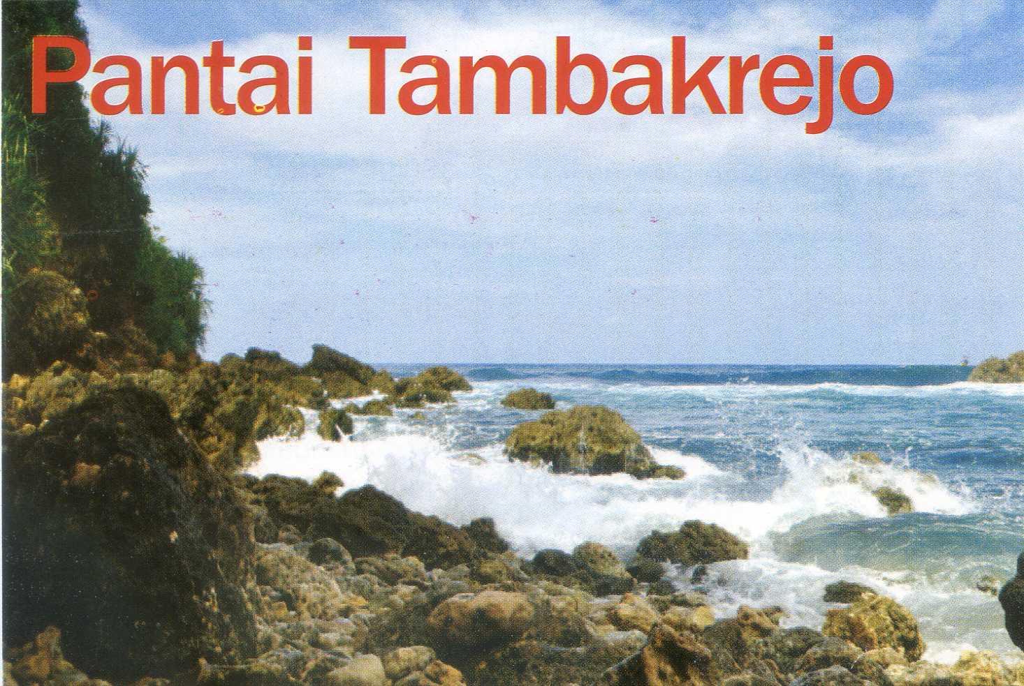 Pantai Tambakrejo Kabupaten Blitar Wisata Jawatimuran Berlokasi Pasur Kab