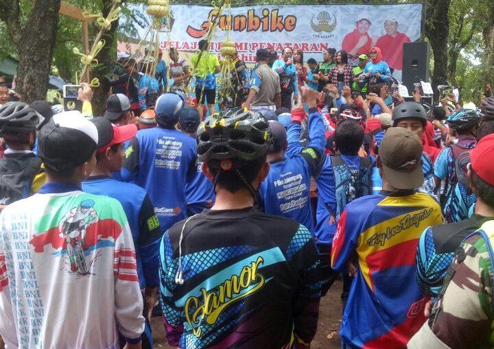 Fun Bike Jelajah Bumi Penataran Satpol Pp Kabupaten Blitar Anggota