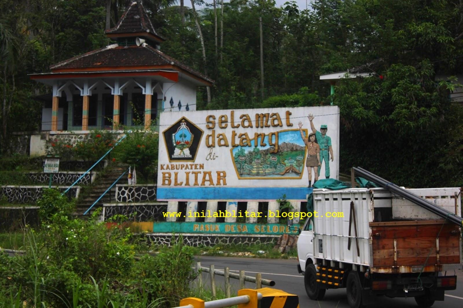 Inilah Blitar Datang Gerbang Masuk Ujung Timur Wilayah Kabupaten Menghubungkan