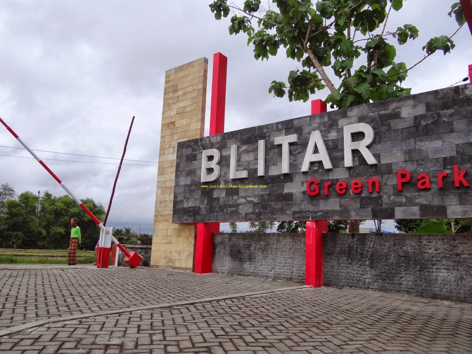 Inilah Blitar Green Park Penyejuk Udara Kota Taman Bernama Berada