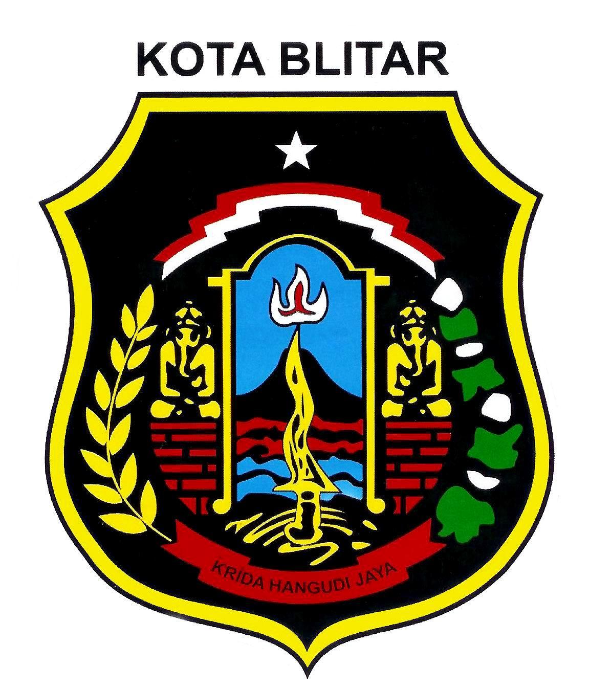 Kota Blitar Blog Logo Taman Hijau Kab