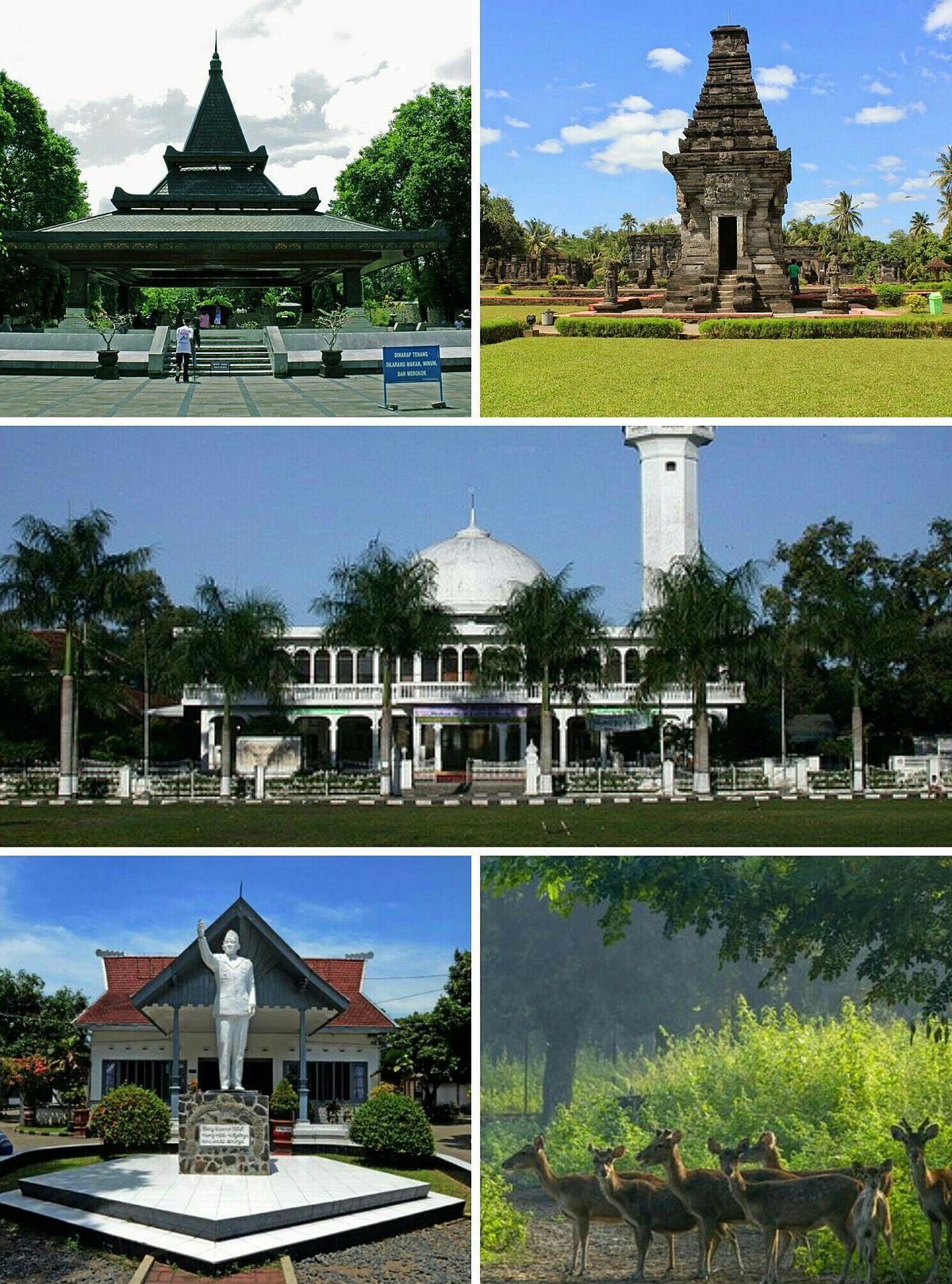 Kota Blitar Wikipedia Bahasa Indonesia Ensiklopedia Bebas Taman Hijau Kab
