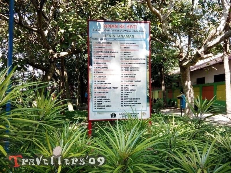 Taman Idaman Hati Rth Wlingi Blitar Travellers Ruang Terbuka Hijau