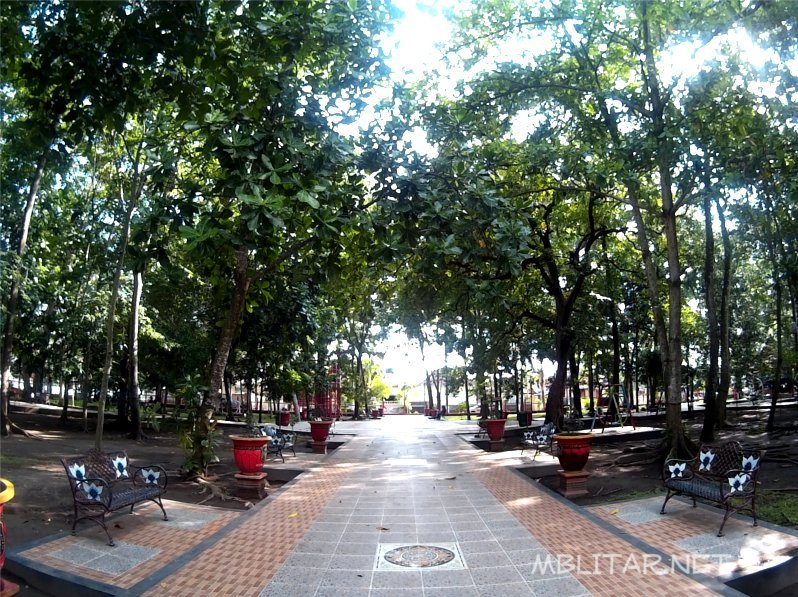 Kebon Rojo Taman Kota Keluarga Mblitar Net Kab Blitar