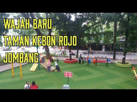 Wajah Taman Kebon Rojo Jombang Youtube Kab Blitar