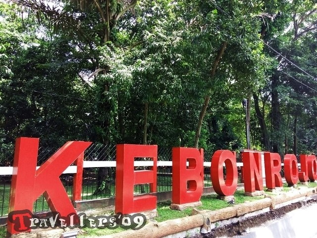 Wisata Kota Blitar Travellers Kebonrojo Taman Kebon Rojo Kab