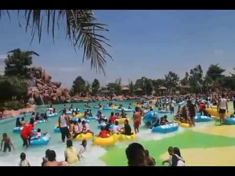 Legend Waterpark Kertosono Kolam Ombak Youtube Water Park Sumber Udel
