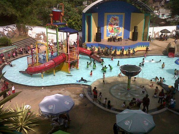 Nostalgia Wisata Blitar Water Park Sumber Udel Kota Kab