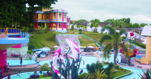 Pesona Keindahan Wisata Water Park Sumber Udel Blitar Daftar Tempat