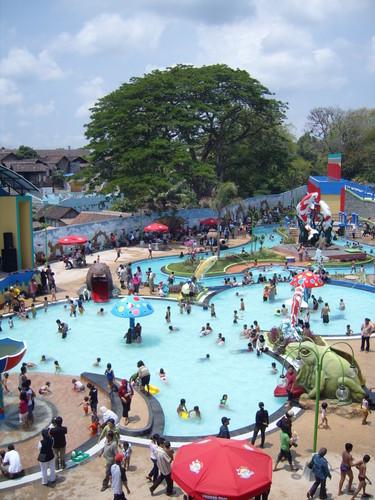 Water Park Sumber Udel Blitar East Java Kab