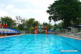 Water Park Sumber Udel Blitar Wisata Air Anggun Ulinulin Berkunjung