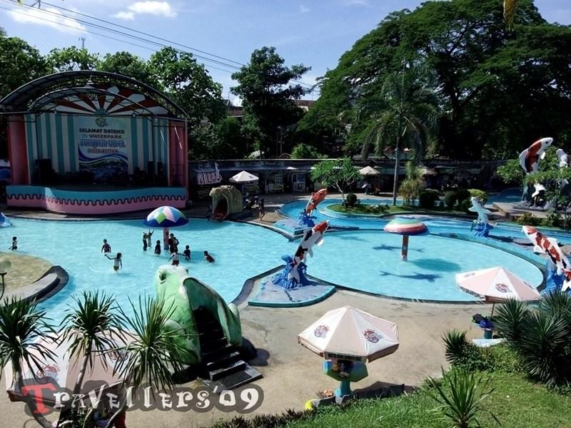 Waterpark Sumber Udel Kota Blitar Travellers Kolam Renang Panggung Hiburan