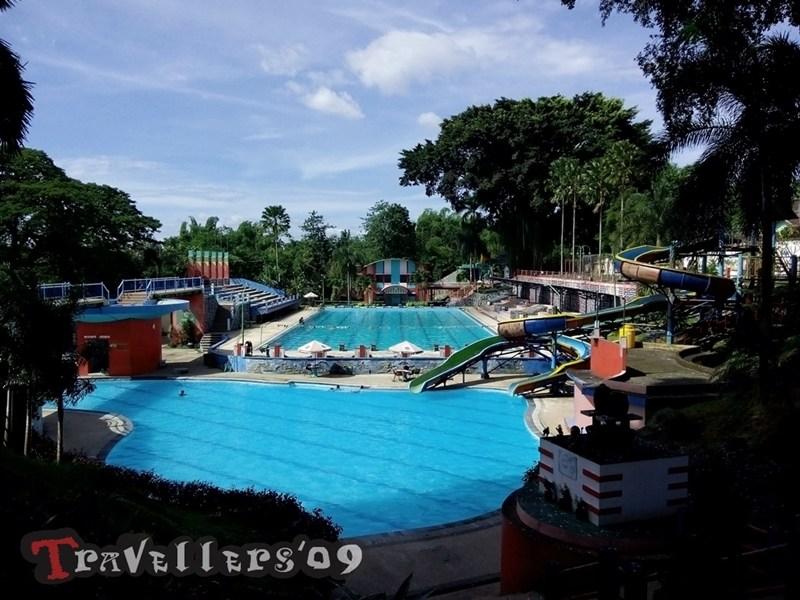 Waterpark Sumber Udel Kota Blitar Travellers Suasana Asri Permainan Air