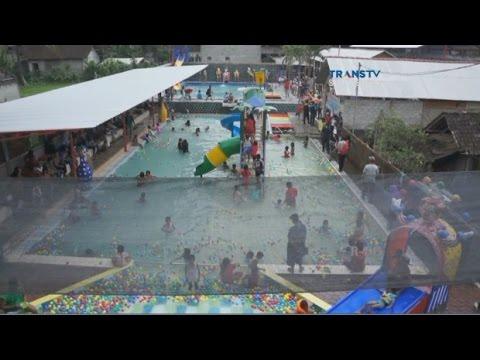Wisata Waterplay Chenoa Youtube Water Park Sumber Udel Kab Blitar