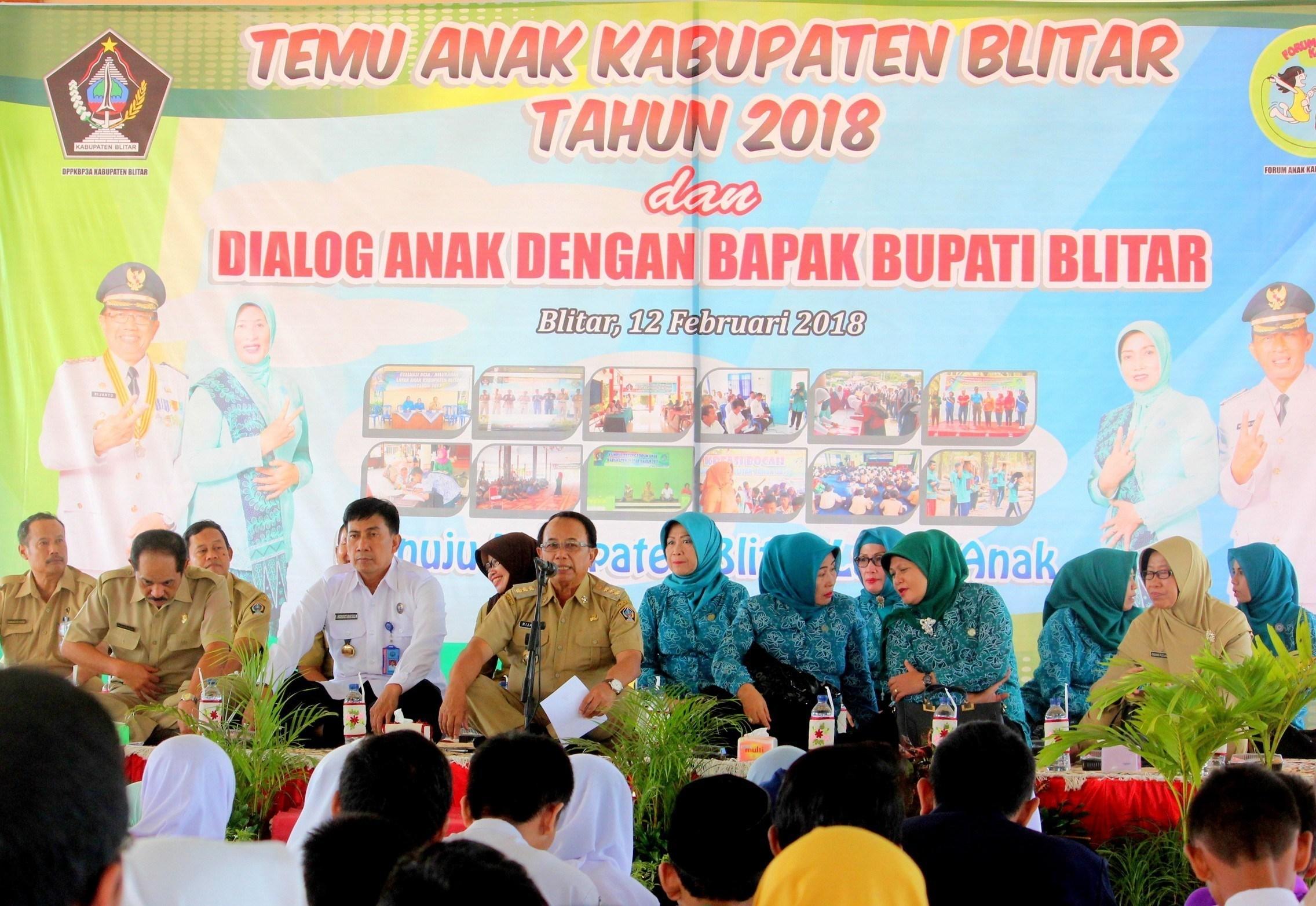 Bupati Blitar Bangga Forum Anak Kritis Inofatif Zegra Kab