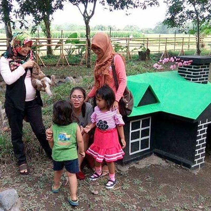 Rumah Hobbit Rabbit Park Jadi Wisata Hits Ngabuburit Blitar Zegra