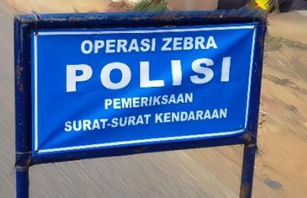 Sepekan Operasi Zebra Polres Blitar Kota Tilang 1 545 Pelanggar
