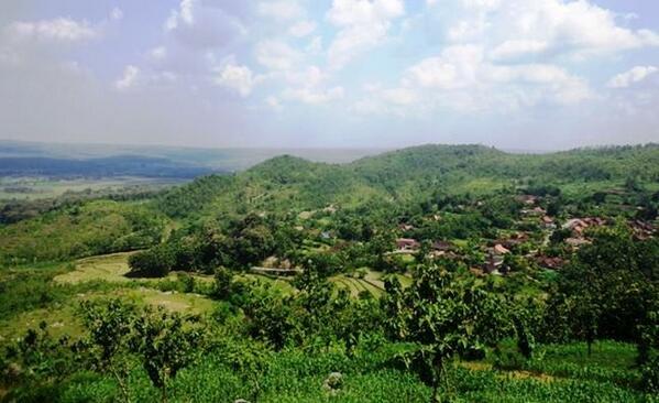 Informasi Blora Twitter 26 Visitblora Foto Hijaunya Perbukitan Desa Janjang