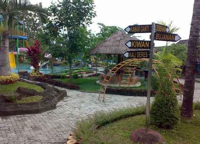 Tempat Wisata Blora Terbaru 2018 Indah Taman Kampung Gojekan Bukit