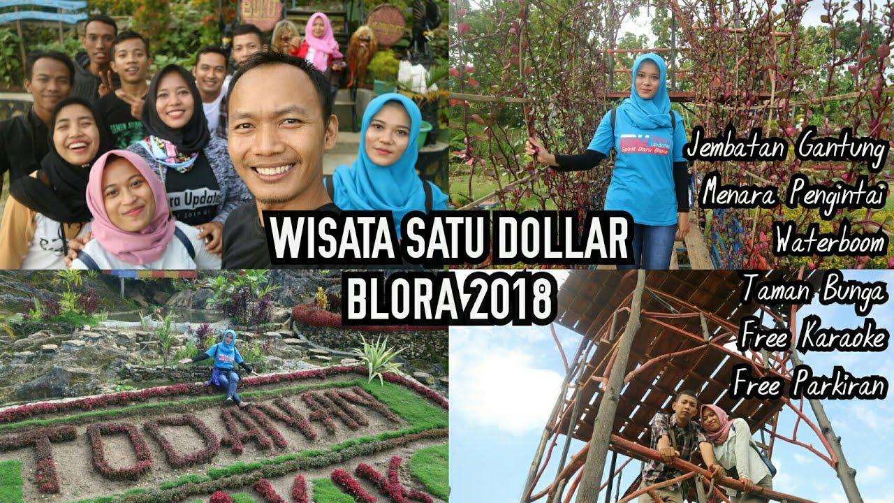 Wisata Blora 2018 Jembatan Gantung Bukit Kemuning Youtube Janjang Kab