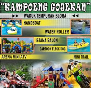 Destinasi Tempat Objek Wisata Kabupaten Blora Kampung Gojekan Bluron Kab