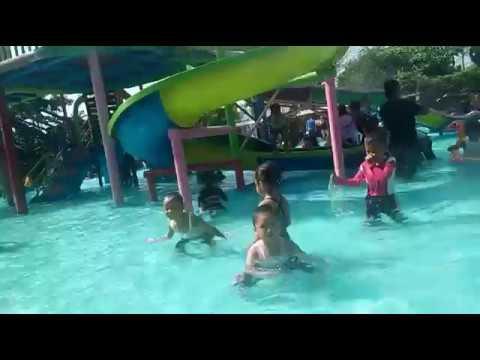 Info Blora Wahana Bermain Taman Sarbini Water Splash Youtube Kampung