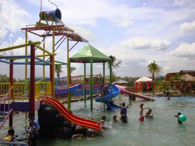 Kampoeng Bluron Wahana Wisata Air Kota Blora Ramai Kampung Desa