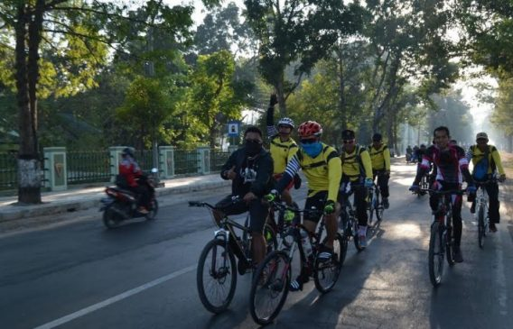 Nusantaraexpress Kapolres Blora Ajak Gowes Bareng Komunitas Lebih Mempererat Hubungan