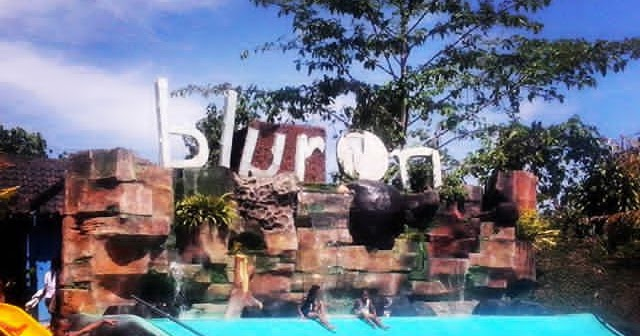 Cahyaaryanti Wahana Wisata Air Kota Blora Ramai Pengunjung Kampung Bluron
