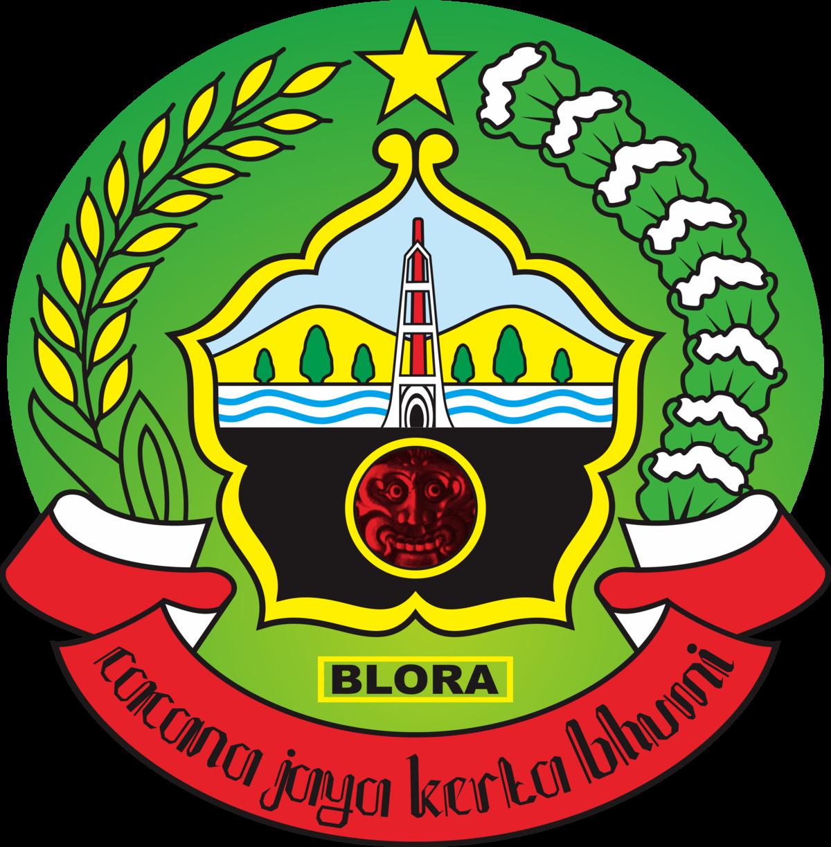 Kabupaten Blora Wikipedia Bahasa Indonesia Ensiklopedia Bebas Kampung Gojekan Kab