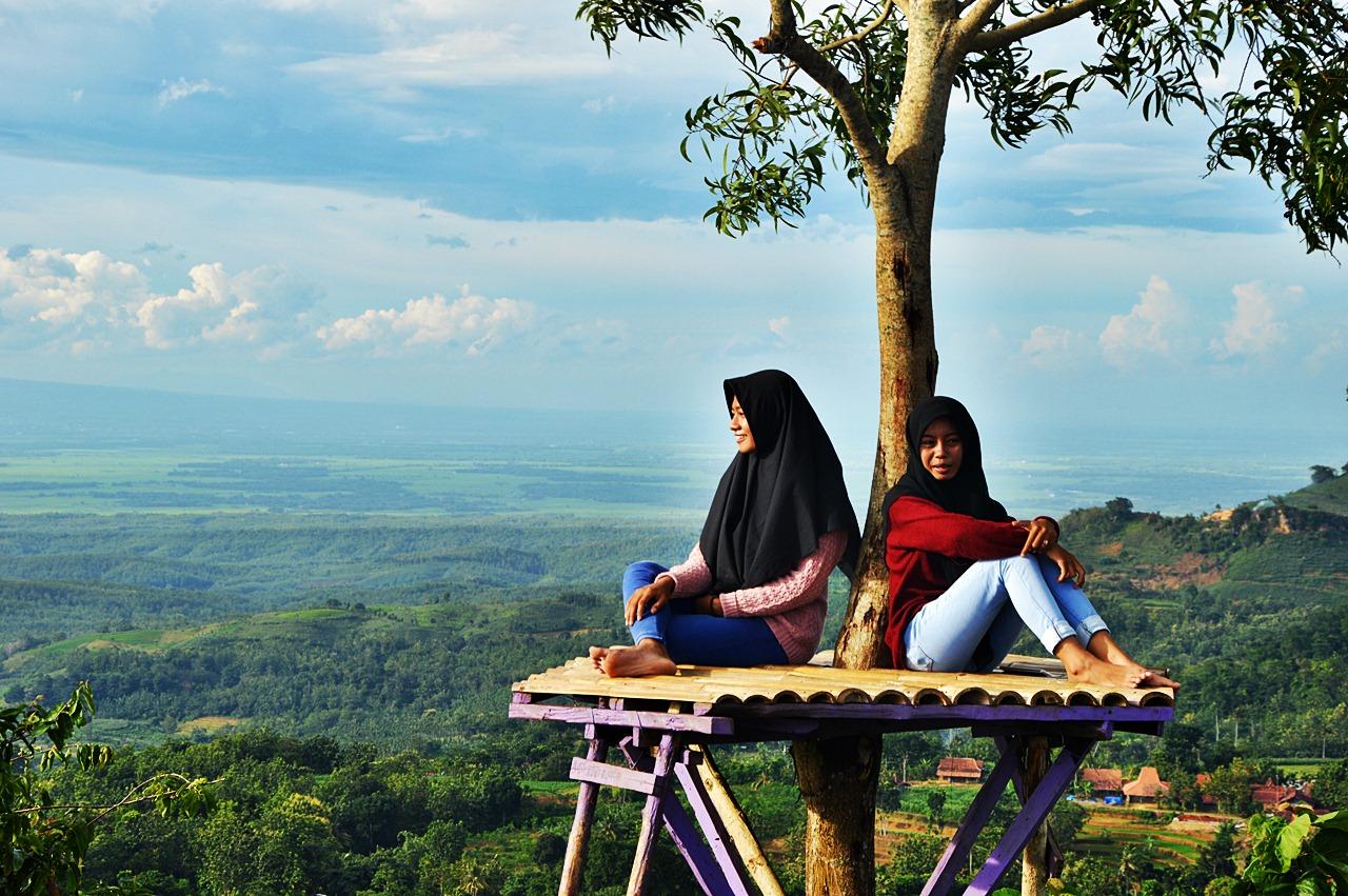 News Rani Pesona Gunung Cengklik Birunya Blora Kampung Gojekan Kab