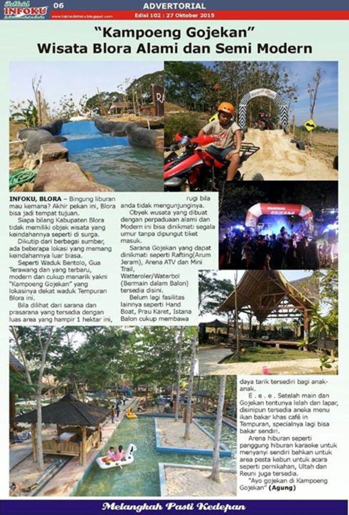 Tabloid Infoku Kampoeng Gojekan Kampung Kab Blora