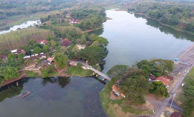 Tempat Wisata Blora Terbaru 2018 Indah Waduk Tempuran Kampung Gojekan