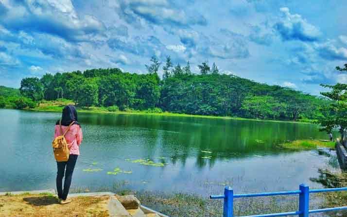 Tempat Wisata Blora Terbaru 2018 Indah Waduk Greneng Monumen Hutan