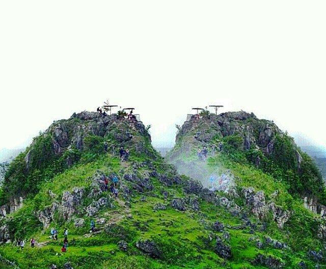 Obyek Wisata Alam Gunung Pencu Blora Jawa Tengah Kabupaten Sebenanya