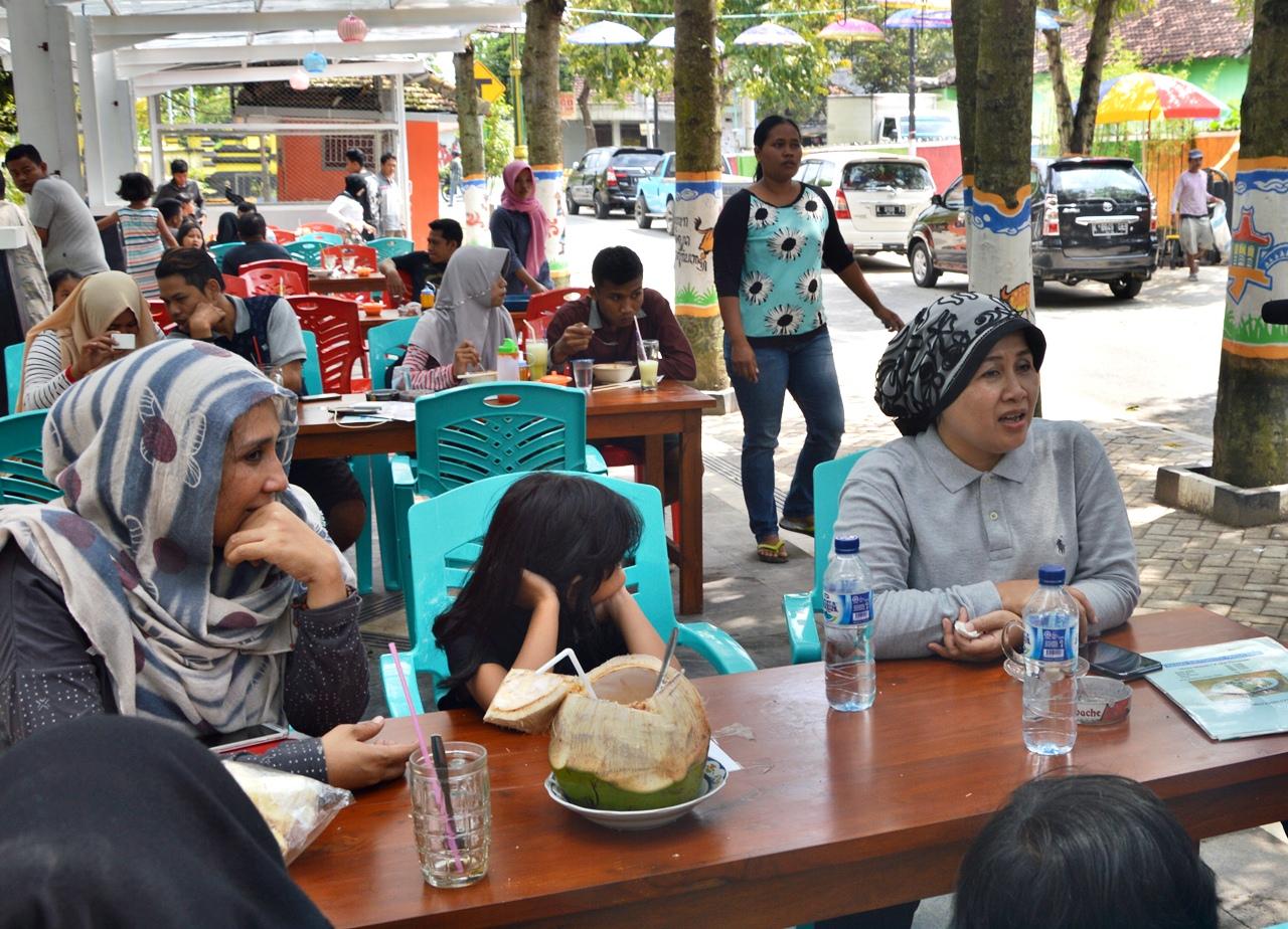 Serunya Berakhir Pekan Taman Tirtonadi Kota Blora Infoblora Ibu Umi