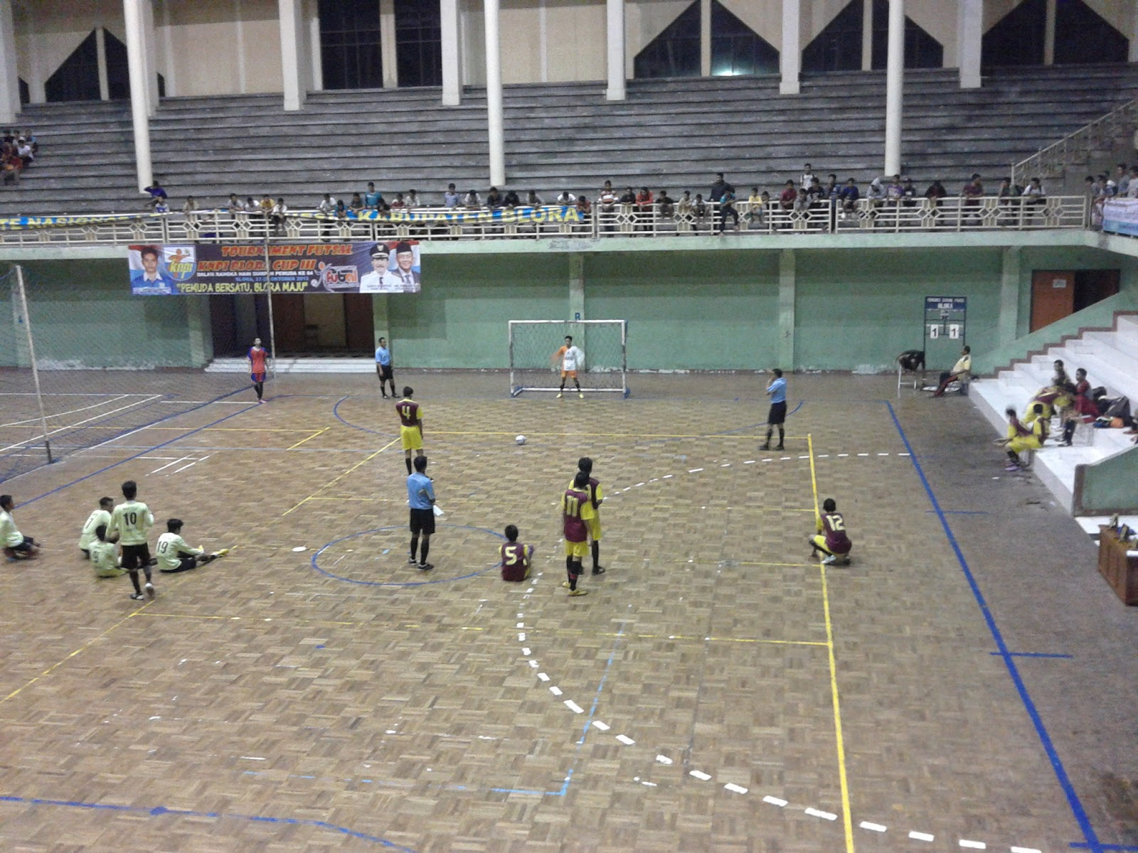 Arena Futsal Gor Mustika Blora Infoblora Terletak Jalan 1 Pertama
