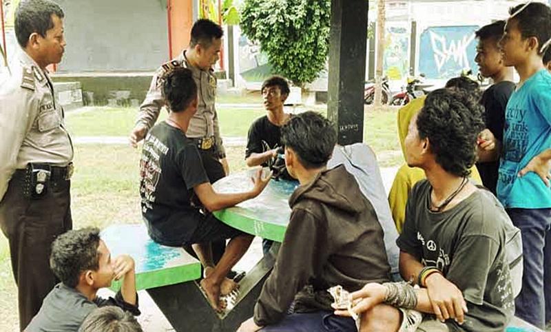Asik Pesta Miras Taman Mustika Kota Blora 16 Pemuda Ditangkap