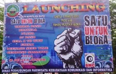 Blora Kota Barongan Twitter Event Live Music Satu Launching Album