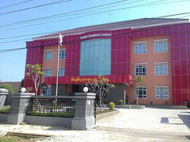 Foto Indah Kota Blora Mustika Seputarkotablora Gedung Keuangan Daerah Taman