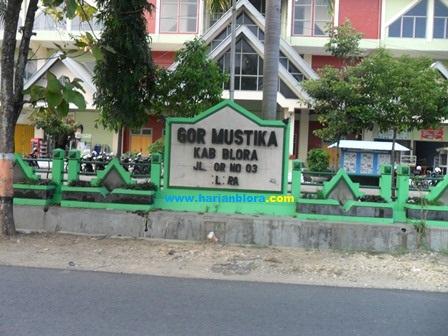 Gedung Olahraga Gor Mustika Blora Jawa Tengah Harian Salah Satu