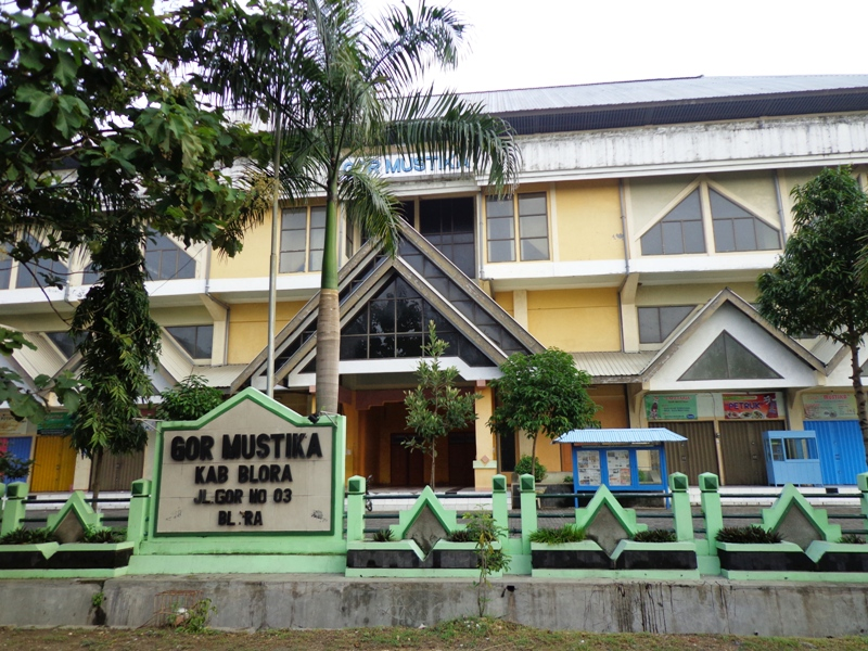 Gor Mustika Blora Infoblora Gedung Olahraga Milik Pemkab Yg Digunakan