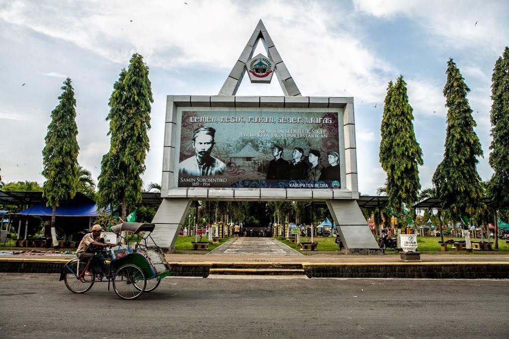 Kabupaten Blora Wikipedia Bahasa Indonesia Ensiklopedia Bebas Alun Taman Mustika