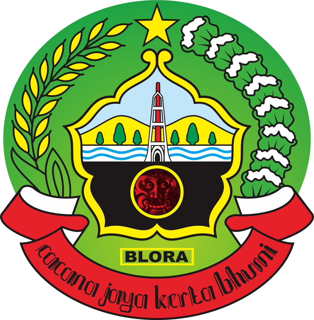 Kabupaten Blora Wikipedia Bahasa Indonesia Ensiklopedia Bebas Taman Mustika Kab