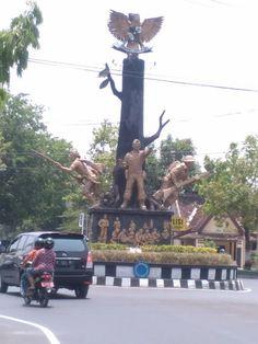 Bukit Pencu Blora Central Java Indonesia Pinterest Tugu Pancasila Taman