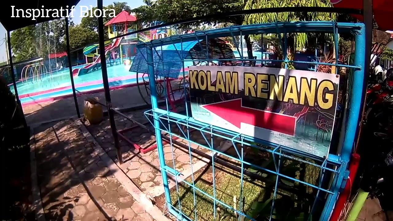 Isi Taman Sarbini Blora Youtube Water Splash Kab