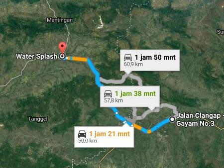 Pesona Keindahan Wisata Water Splash Tempelan Blora Jawa Tengah Demikianlah
