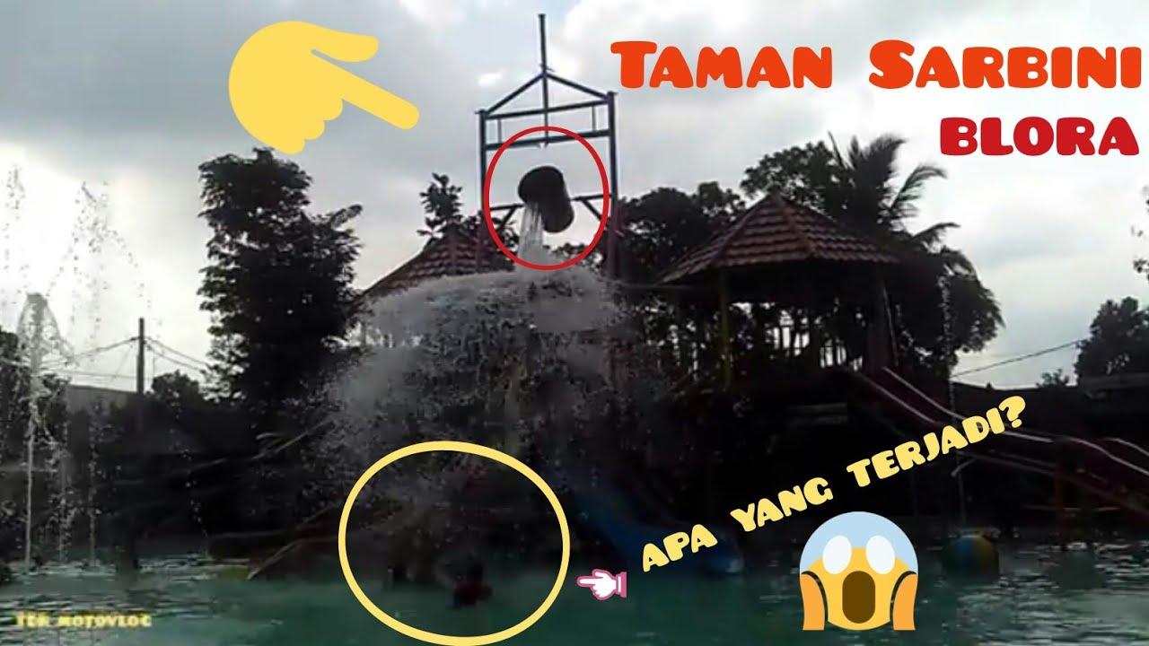 Taman Sarbini Blora Jawa Tengah Terjadi Liburan Dua Pacar Water