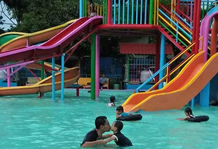Tempat Wisata Blora Terbaru 2018 Indah Water Splash Taman Sarbini