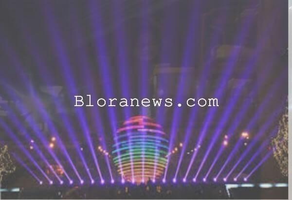 Fenomena Kehidupan Malam Taman Seribu Lampu Cepu Bloranews Dunia Kab